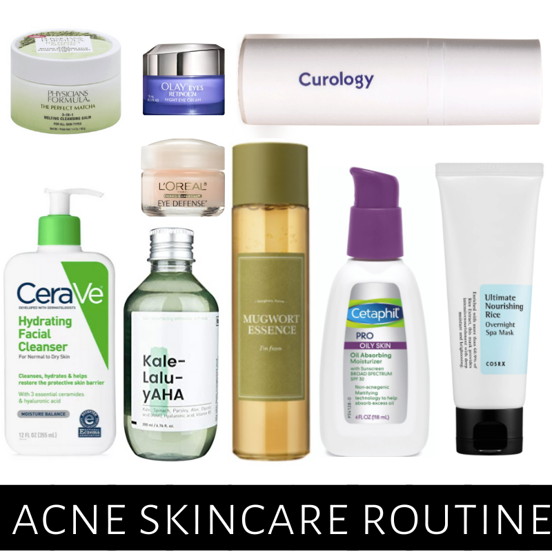 Acne Skincare Routine on a Budget